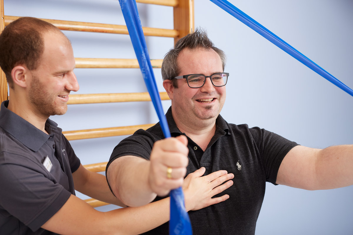 Physiotherapie   physikalische Therapie